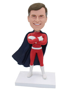 Cheap Customized Superman Bobbleheads, Superhero Personalized Bobbleheads - Abobblehead.com