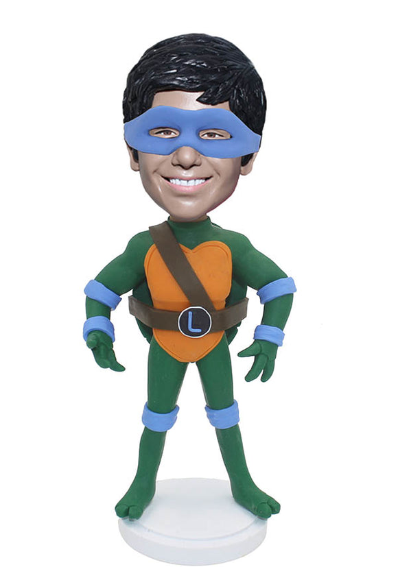 Custom Bobblehead Ninja Turtles Doll, Teenage Mutant Ninja Turtles Bobbleheads From Photo - Abobblehead.com