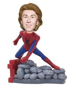 Custom Spiderman Bobblehead, Spiderman Customizable Bobbleheads - Abobblehead.com