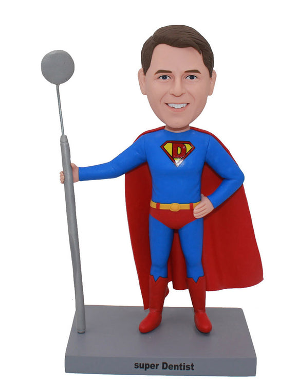 Custom Bobbleheads Superman Gifts For Adults, Make Yourself Into Superman Figure - Abobblehead.com