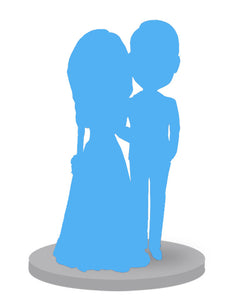 Head to Toe Custom Wedding Bobbleheads 2 People - Abobblehead.com