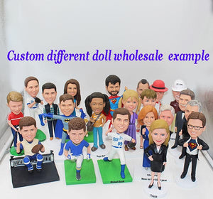 Bobbleheads Groupon More Than 15 People Head to Toe Custom Wholesale Custom Different Doll - Abobblehead.com