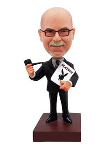 Make A Tobacco Pipe Bobblehead Of Yourself, Unique Gifts for Boss - Abobblehead.com