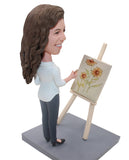 Custom Painter Bobblehead Doll, Customized Painting Bobbleheads - Abobblehead.com