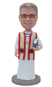 Custom Priest Bobblehead Dolls That Look Like Priests - Abobblehead.com