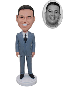 Custom Office Bobbleheads, Custom Bridegroom Bobblehead, Custom Boss Bobblehead - Abobblehead.com