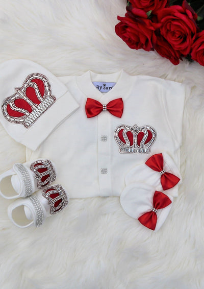 Red Crown Outfit