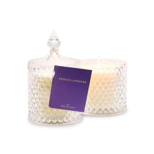 French Lavender Crystal Candle 510g - shopsatang.com