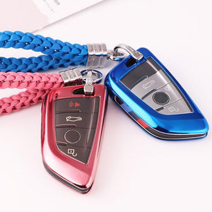 Colorful Car key cases, bags and covers are producted forBMW-X1234567