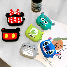 Load image into Gallery viewer, Cute Case For Airpods Pro Case Wireless for apple airpods Pro 3 Case Cover For Air Pods pro Silicone Headphones Case Protective
