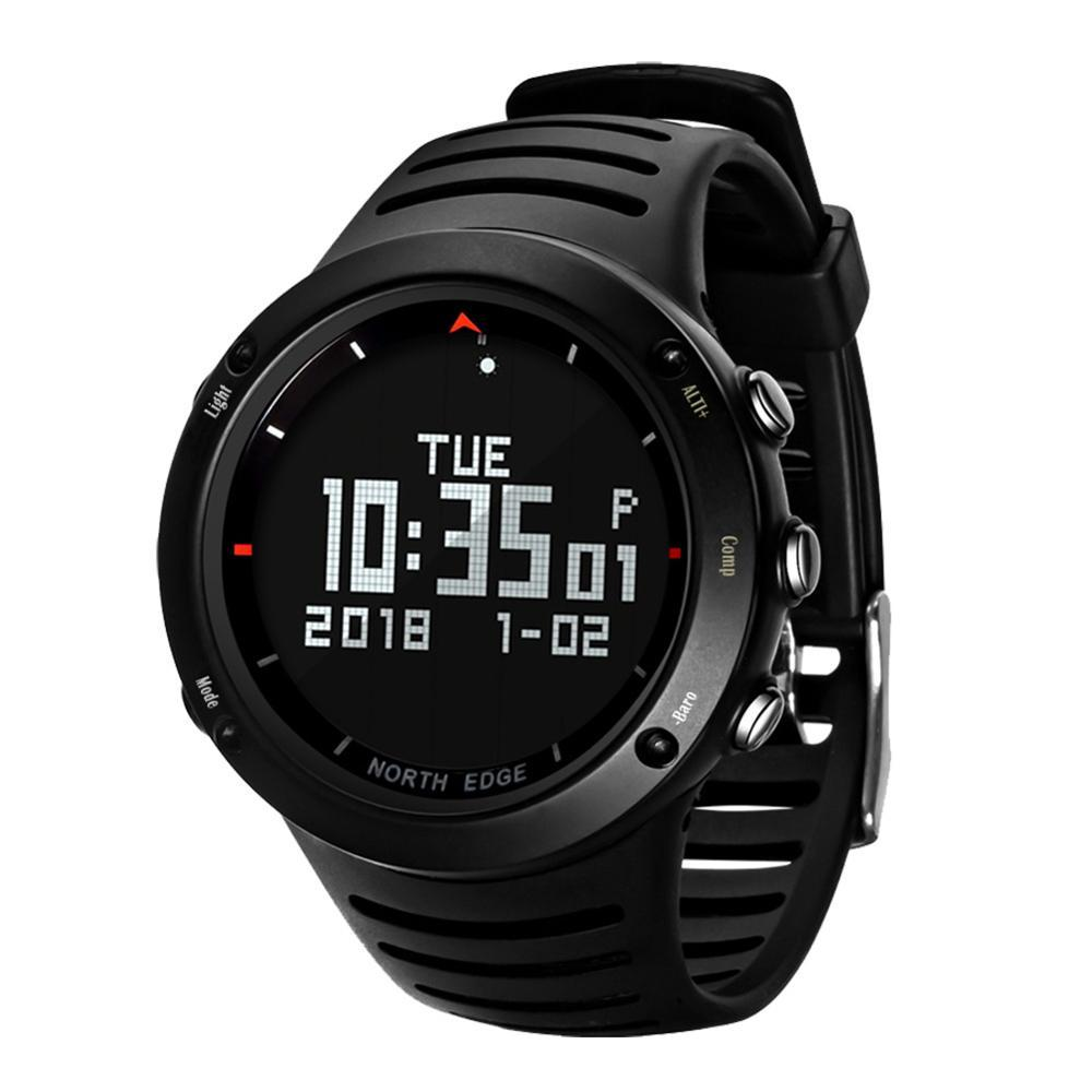 North Edge  Outdoor Intelligent Sports Step Watch Blood Pressure Heart Rate ECG Mode Watch Waterproof Smart Watch - shopsatang.com