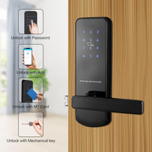 Load image into Gallery viewer, TTlock Bluetooth WiFi Smart Electronic Door Lock Keypad Smart Door Lock For Home Airbnb House Apartment with App Remote Control