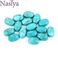 Load image into Gallery viewer, Smooth Natural Stone Turquoises Loose Beads for Jewelry Making Wholesale Decoration Gemstone Jewelry Gift
