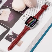Load image into Gallery viewer, Slim Fit women strap For Apple Watch series 1/2/3 For Apple Watch Band 42mm 38mm Bracelet strap for iwatch 4 5 40mm 44mm