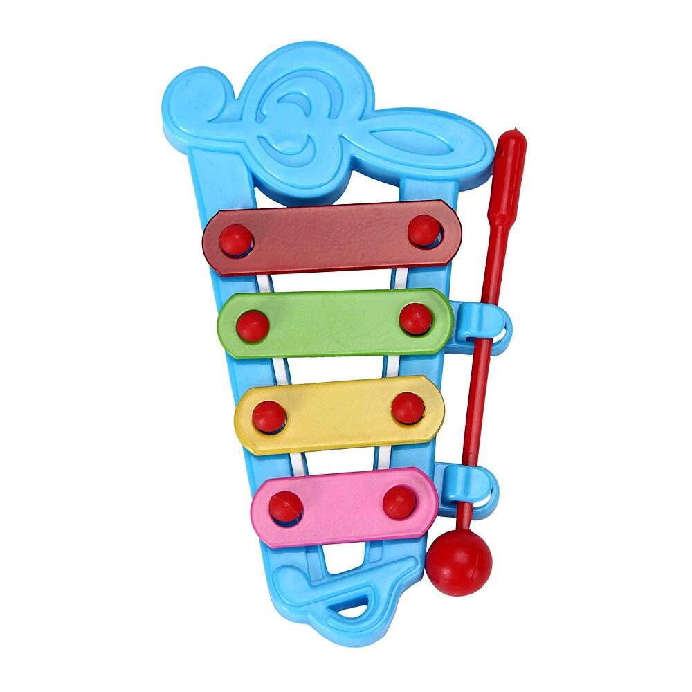 New Toddler Educational Learning 4-Note Percussion Musical Instruments Xylophone Wisdom Development Interesting Toy For Children - shopsatang.com