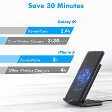 Load image into Gallery viewer, 15W Qi Wireless Charger Stand For iPhone 11 Pro X XS Max XR 8 Samsung S20 S10 Note 10 9 Fast Charging Dock Station Phone Holder