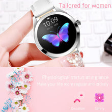 Load image into Gallery viewer, YOCUBY Women Smart Watch KW10 IP68 Waterproof Heart Rate Monitoring Stainless Steel Smart Watch Fitness Bracelet Smartwatch