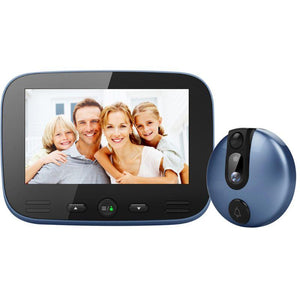 4.3 Inch LCD Colorful Screen Video Doorbell Camera Viewer Smart Electronic Cat Eye Peehole for Night Vision Motion Detection Hom - shopsatang.com