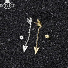 Load image into Gallery viewer, Stainless Steel Chains Arrow Drop Earrings Women Geometric Jewelry 2018 New Fashion Bohemian Brincos Para as Mulheres Bijoux