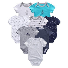 Load image into Gallery viewer, 2019 8PCS/lot Clothing Sets Cotton Newborn Unicorn Baby Girl Clothes Bodysuit Baby Clothes Ropa bebe Baby Boy Clothes