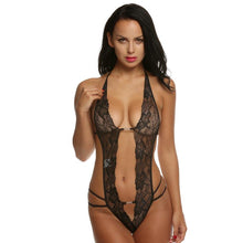 Load image into Gallery viewer, Avidlove Women Sexy Lingerie Hot Erotic Lace Mini Teddy Sexy Underwear Front Open Lenceria Sexy Costume Sleepwear Plus Size