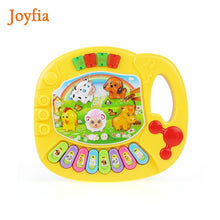 Load image into Gallery viewer, 2 Types Animal Farm Piano Keyboard Musical Instrument Toy Music Toys Early Educational Toys for Children Baby Gift