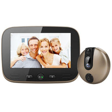 Load image into Gallery viewer, 4.3 Inch LCD Colorful Screen Video Doorbell Camera Viewer Smart Electronic Cat Eye Peehole for Night Vision Motion Detection Hom - shopsatang.com