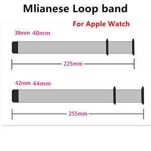 Milanese Loop Strap For Apple Watch band pulseira apple watch 5 4 3 band 44mm/40mm iwatch 5 42mm 38mm correa watchband bracelet
