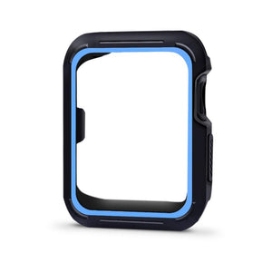 Rolamy Wholesale New Replacement Silicone Protective Frame Case Cover Frame Bezel For Smart Apple Watch Iwatch Series 4/3/2/1