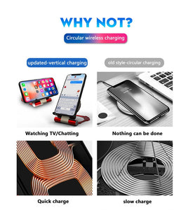 For TIKTOK pentagram Magic Array Wireless Charger Pad 10w Qi Fast Ultra Slim Charging Pad For Iphone XS/XS Max/XR for huawei P20