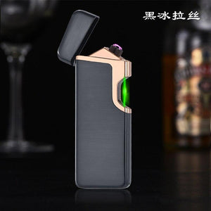 Infrared Switch Plasma  Usb Cigarette Electric Lighter  Gadgets for Men Electronic Arc Metal  Rechargeable Lighters Smoke - shopsatang.com
