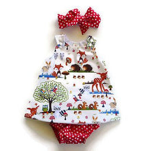 Load image into Gallery viewer, 3PCS Infant Toddler Kids Baby Girl Clothes Top Dress+Short Pants+Headband Outfits Set