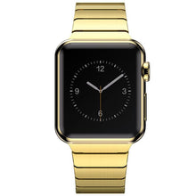 Load image into Gallery viewer, Gold Plating Protective Case Cover + Stainless Steel Band for Apple Watch Series 2 3 Strap For iWatch Bracelet Wristband 38/42mm