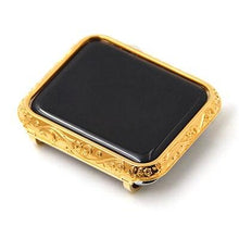 Load image into Gallery viewer, Carving Watch Case For Apple Watch Shell Luxury Casing Cover For Apple Watch Series 1 2 3 Protcitive Case Frame 38mm-42mm
