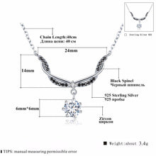 Load image into Gallery viewer, Romantic Arrive 925 Sterling Silver Fine Jewelry Trendy Engagement necklaces & pendants for Women Bijoux Femme K029