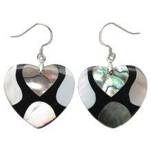 Load image into Gallery viewer, Yacq 925 Sterling Silver Abalone Shell Teardrop Drop Dangle Earrings Jewelry Gifts for Women Girls Mom Her dropshipping H204 - shopsatang.com