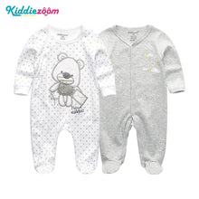 Load image into Gallery viewer, Clothing Sets Baby Girl Clothes Full Sleeve Ropa bebe 0-12M Cotton Bodysuit Costumes Baby Boy Clothes Newborn Baby Clothes