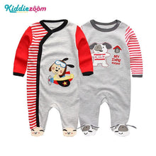 Load image into Gallery viewer, Clothing Sets Baby Girl Clothes Full Sleeve Ropa bebe 0-12M Cotton Bodysuit Costumes Baby Boy Clothes Newborn Baby Clothes - shopsatang.com