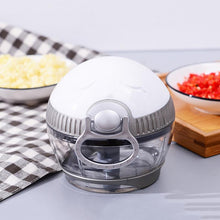 Load image into Gallery viewer, Manual Vegetable Chopper Hand Rope Pull Food Cutter Onion Nut Grinder Mincer Shredder Multifunction Kitchen Gadgets Dropshipping
