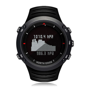 North Edge  Outdoor Intelligent Sports Step Watch Blood Pressure Heart Rate ECG Mode Watch Waterproof Smart Watch
