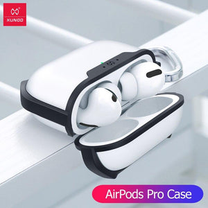 Xundd Earphone Case For Apple AirPods Pro Case Wireless Bluetooth Transparent AirPod 3 Cover For Airpod 1/2 Dust Guard Cover