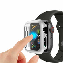 Load image into Gallery viewer, Full Coverage Case For Apple Watch Series 5 Series 4 40mm 44mm Cover Shell For iWatch Screen Protector Film Case