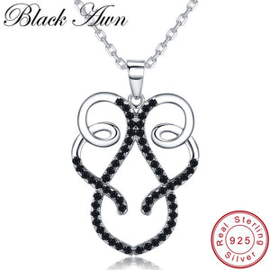 Classic Arrive 925 Sterling Silver Fine Jewelry Trendy Engagement necklaces & pendants for Women Bijoux Femme Fine Jewelry K032 - shopsatang.com
