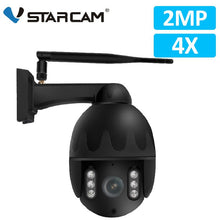 Load image into Gallery viewer, Vstarcam 1080P 4X Zoom IP Camera Wifi Outdoor IP66 Waterproof IR Vision PTZ Speed Dome CCTV Surveillance Security Camera PTZ Cam