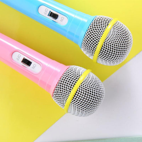 1 Pc Karaoke Singing Kid Funny Gift Music Toy Children Education Machine Microphone Baby K Song Toy Story Kara Smart Microphone