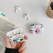 Load image into Gallery viewer, For AirPods Pro Case Fashion Luxury Marble Flower Pattern Earphone Cover For AirPods 3 Glossy IMD Print Hard PC Protect Case
