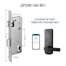 Load image into Gallery viewer, TTlock Bluetooth WiFi Smart Electronic Door Lock Keypad Smart Door Lock For Home Airbnb House Apartment with App Remote Control - shopsatang.com