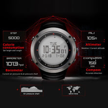 Load image into Gallery viewer, North Edge  Outdoor Intelligent Sports Step Watch Blood Pressure Heart Rate ECG Mode Watch Waterproof Smart Watch