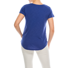 Load image into Gallery viewer, Urban Diction 4 Pack Women's Essential Solid Colors Basic Scoop Neck Tees