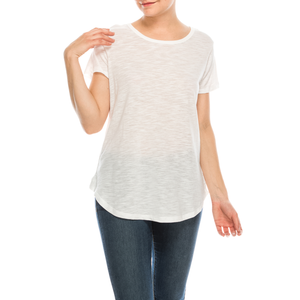 Urban Diction 4 Pack Women's Basic Scoop Neck Tee